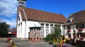 一栋美丽的别墅在德国 免版税库存图片