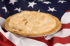 一样美国象苹果饼 库存照片