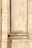 一根古典柱子 免版税库存照片