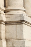 一根柱子的基地在罗马 免版税库存图片