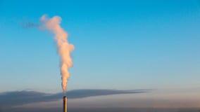 一棵废inceneration植物在苏黎世 免版税库存照片