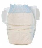 一次性的尿布 免版税库存图片
