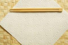 一次性的筷子 免版税库存照片