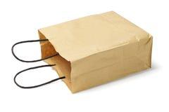 一次性纸袋 免版税库存图片
