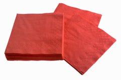 一次性餐巾纸张 库存图片