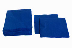 一次性餐巾纸张 免版税库存图片