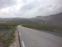 一次旅行向北部挪威 免版税图库摄影