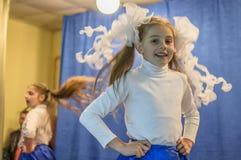 一次欢乐会议和一个音乐会在9可以2017年在俄罗斯的卡卢加州地区 免版税图库摄影