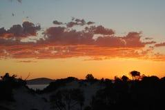 一澳大利亚海滩在新南威尔斯 免版税库存照片