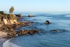 一点光环海滩 库存照片