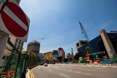 一点印度区在新加坡。 库存照片