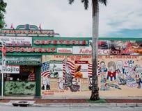 一点哈瓦那餐馆 库存图片