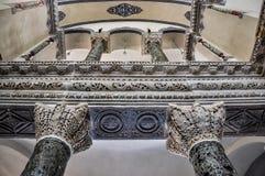 一点圣索非亚大教堂内部  免版税库存照片
