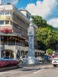 一点大本钟,维多利亚, Mahe,塞舌尔群岛 免版税库存照片