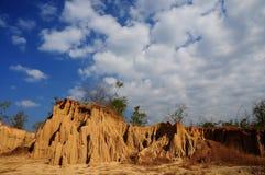 一点山在泰国 免版税库存照片