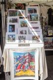 一点意大利,曼哈顿,纽约,美国的纪念品 免版税库存图片