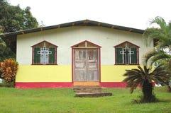 一点教会在密林 库存图片