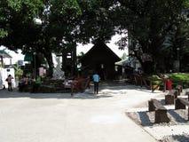 一点教堂,神的慈悲全国寺庙在Marilao,布拉干省 库存图片