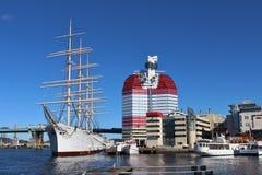 一点景气和Barken北欧海盗 库存照片