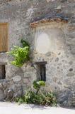 一点村庄Eus,其中一个法国的最美丽的村庄 免版税库存图片
