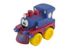 一点橡胶玩具火车 图库摄影