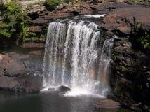 一点河峡谷,阿拉巴马Desoto秋天 免版税库存图片