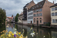 一点法国在史特拉斯堡 库存照片