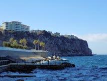 一点海湾直布罗陀 免版税库存照片