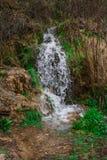 一点瀑布的风景图象在西班牙的省的 免版税库存图片