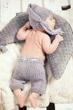 一点男婴摆在 图库摄影