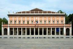 一点红reggio剧院valli 库存图片