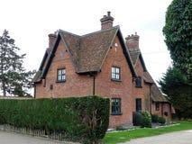 一点绿色街道农场,Chorleywood,赫特福德郡,英国 免版税库存照片