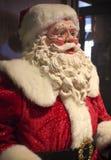 一点美国旅馆旗竿圣诞老人招呼访客 库存图片