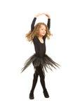 一点芭蕾舞女演员转动 库存照片