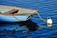 一点蓝色小船 库存图片
