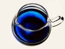 一点蓝色水罐 库存照片