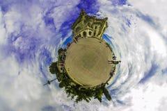 一点行星- Cazino康斯坦察罗马尼亚 库存照片