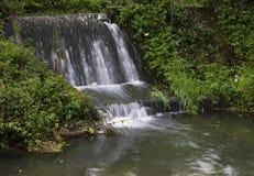 一点起波纹的溪 免版税图库摄影