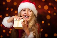 一点错过圣诞老人 免版税库存照片