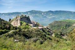 一点镇被放弃aliano,巴斯利卡塔 意大利 免版税图库摄影