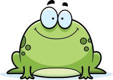 一点青蛙微笑 库存照片