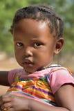 一点Himba女孩,纳米比亚 图库摄影