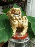 一点Singha监护人雕塑 免版税库存照片