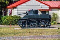 一独立军事男女同校走读在哈灵根,得克萨斯 免版税库存图片