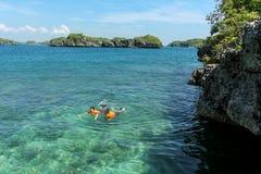 一百个海岛旅游胜地 免版税库存图片
