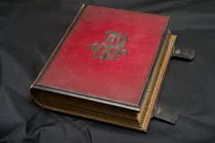 一百二十年家庭册页 库存图片