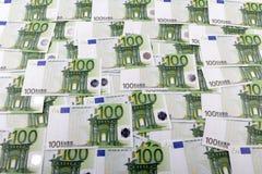 一百欧元 免版税库存照片