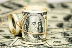 一百美元美国 免版税库存图片