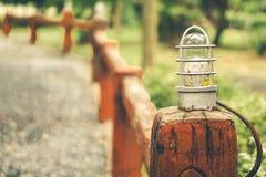一盏灯 免版税图库摄影
