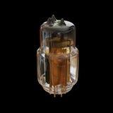 一盏金黄灯的例证 图库摄影